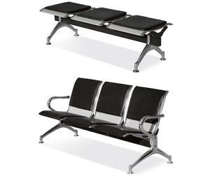 그랜드장의자 3인 로비의자 대기용의자 대기실의자 휴게실의자 장의자